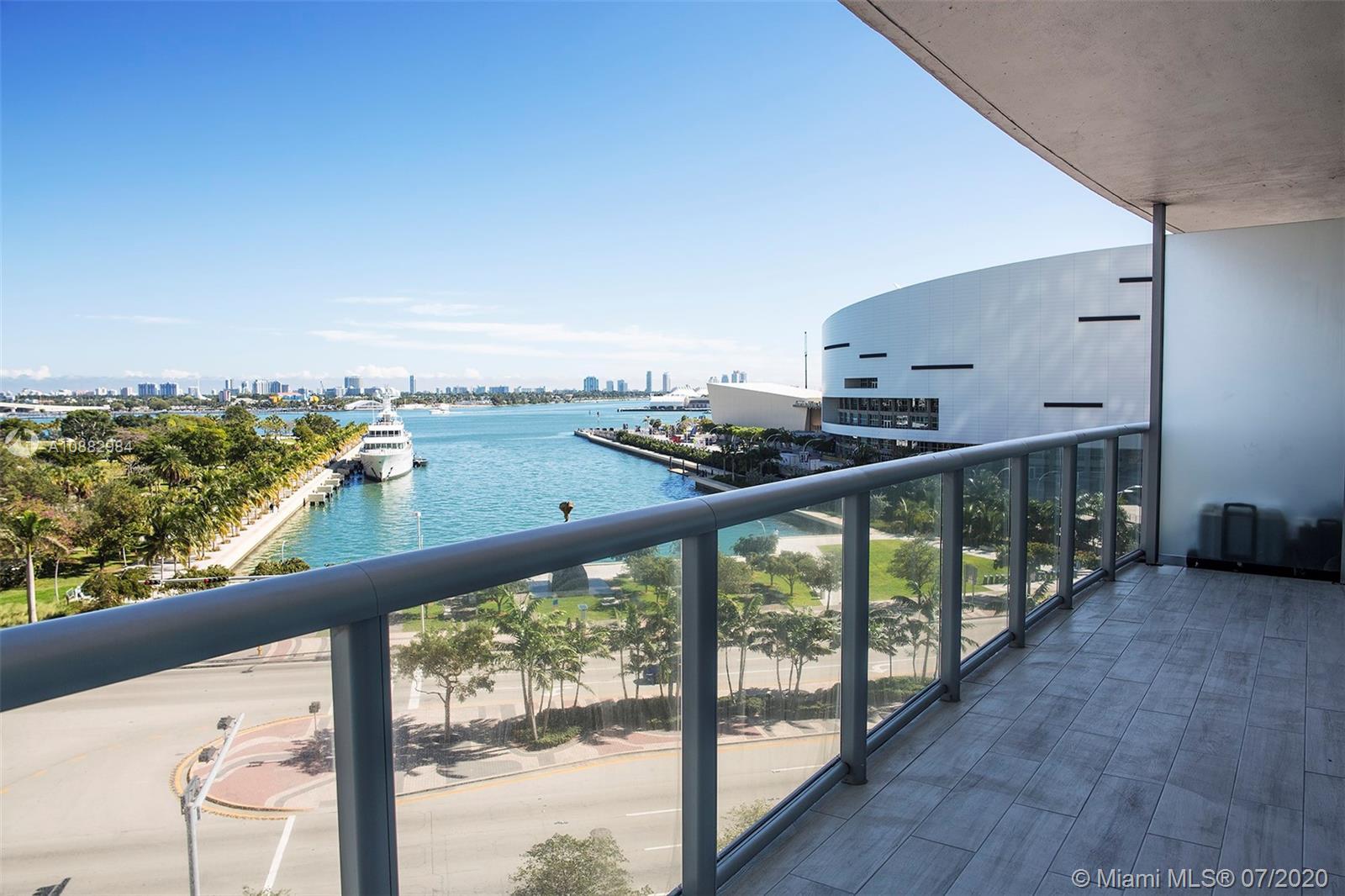 Marina Blue #611 - 888 Biscayne Blvd #611, Miami, FL 33132