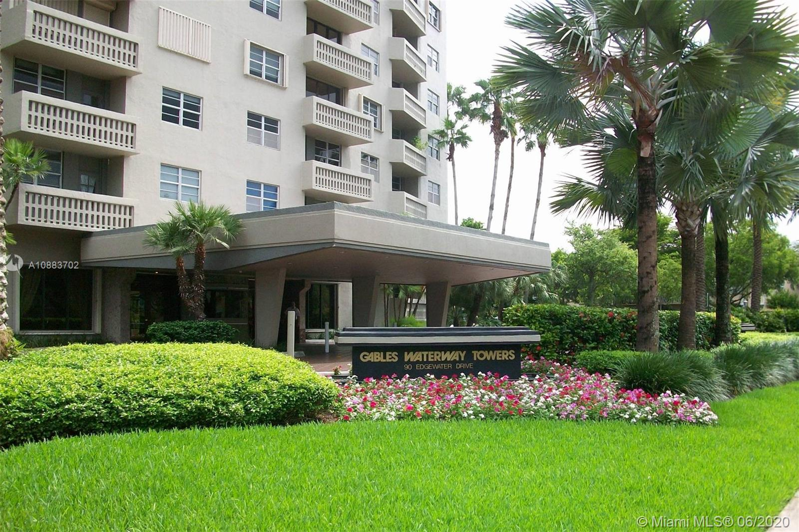 Gables Waterway #402 - 90 Edgewater Dr #402, Coral Gables, FL 33133
