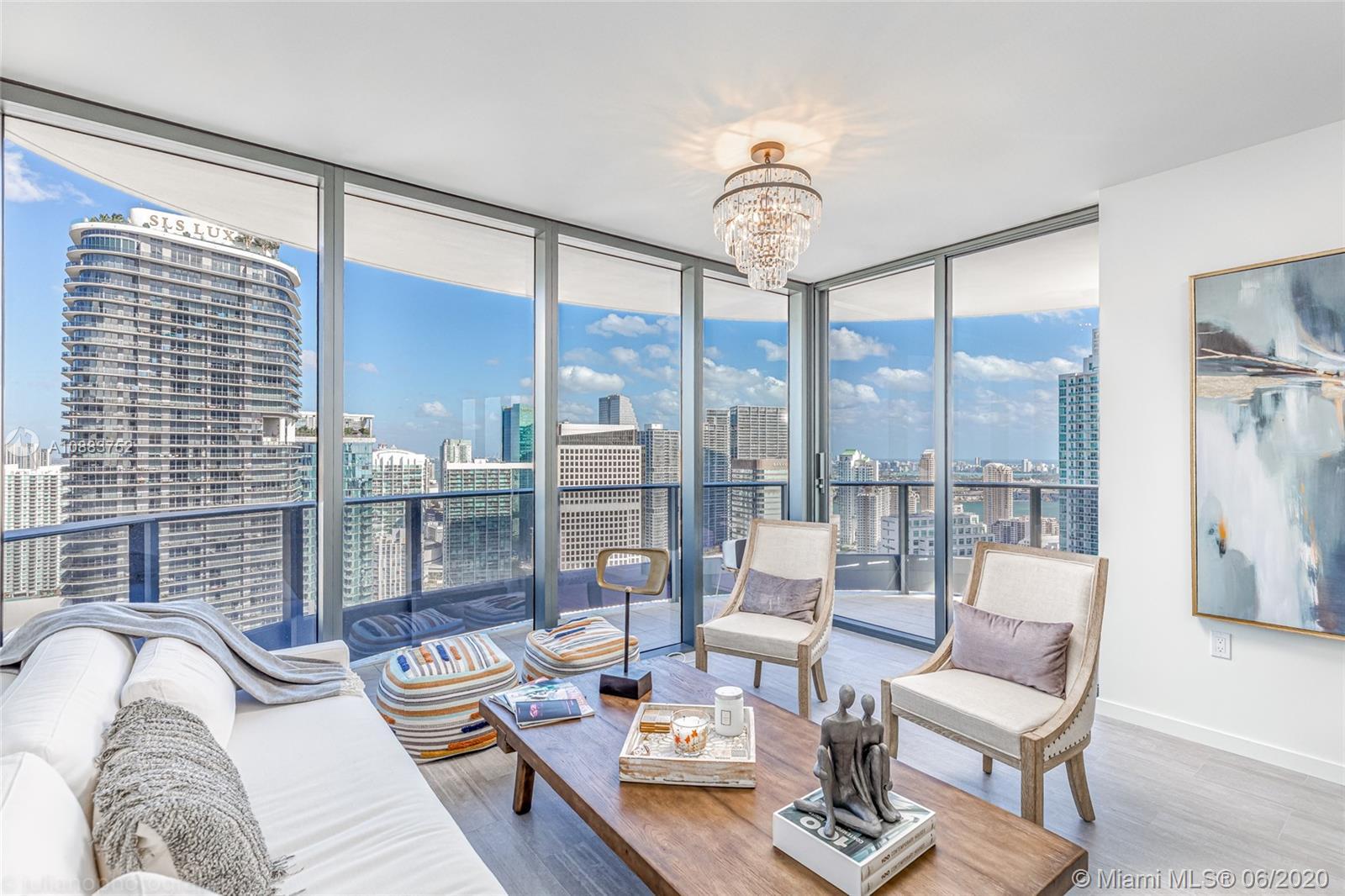1000 Brickell Plaza # 4615, Miami, Florida 33131, 2 Bedrooms Bedrooms, ,3 BathroomsBathrooms,Residential,For Sale,1000 Brickell Plaza # 4615,A10883752