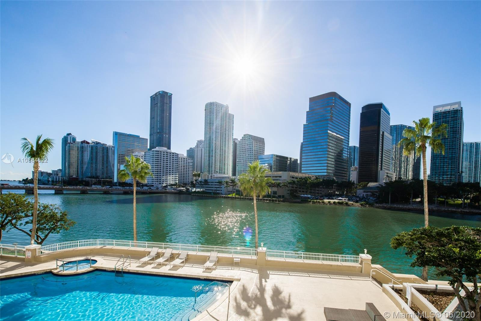 Courvoisier Courts #1707 - 701 Brickell Key Blvd #1707, Miami, FL 33131