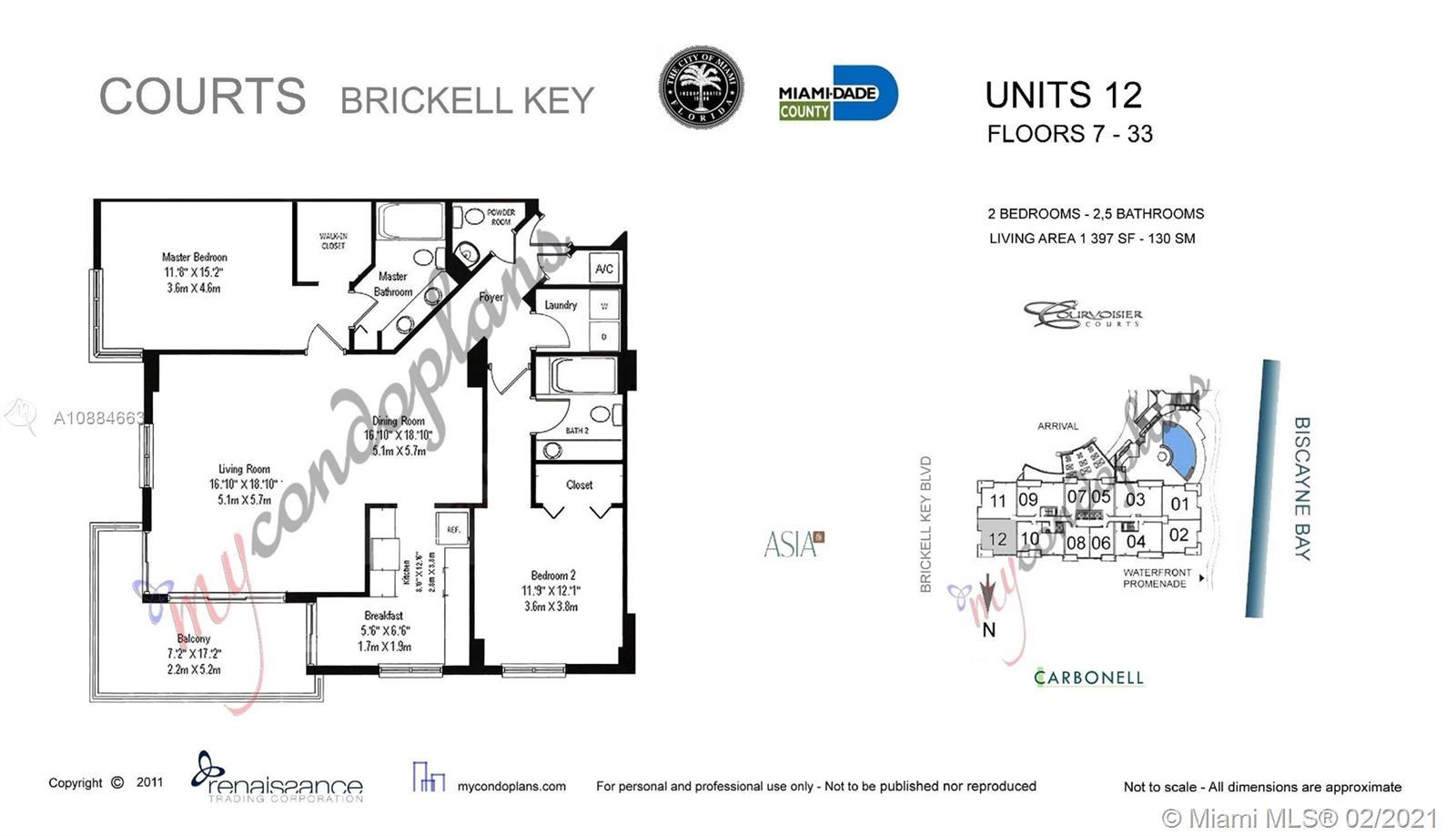 801 Brickell Key Blvd #1912 photo024