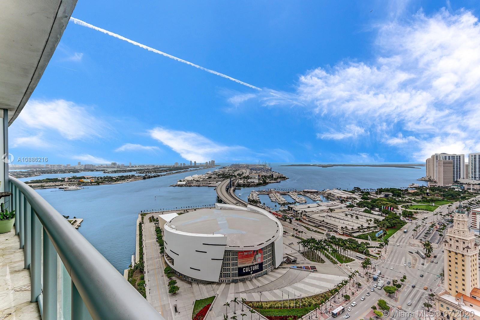 Marina Blue #3601 - 888 Biscayne Blvd #3601, Miami, FL 33132