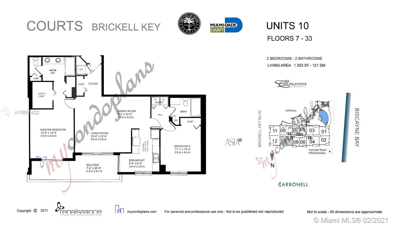 801 Brickell Key Blvd #2510 photo024