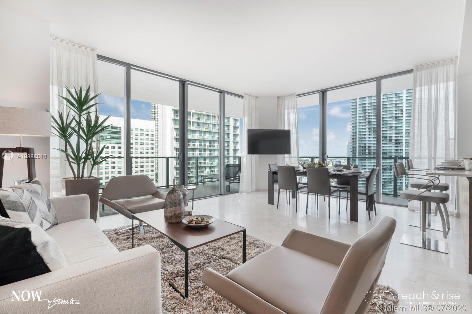 Rise Brickell City Centre #2412 - 88 SW 7 ST #2412, Miami, FL 33131