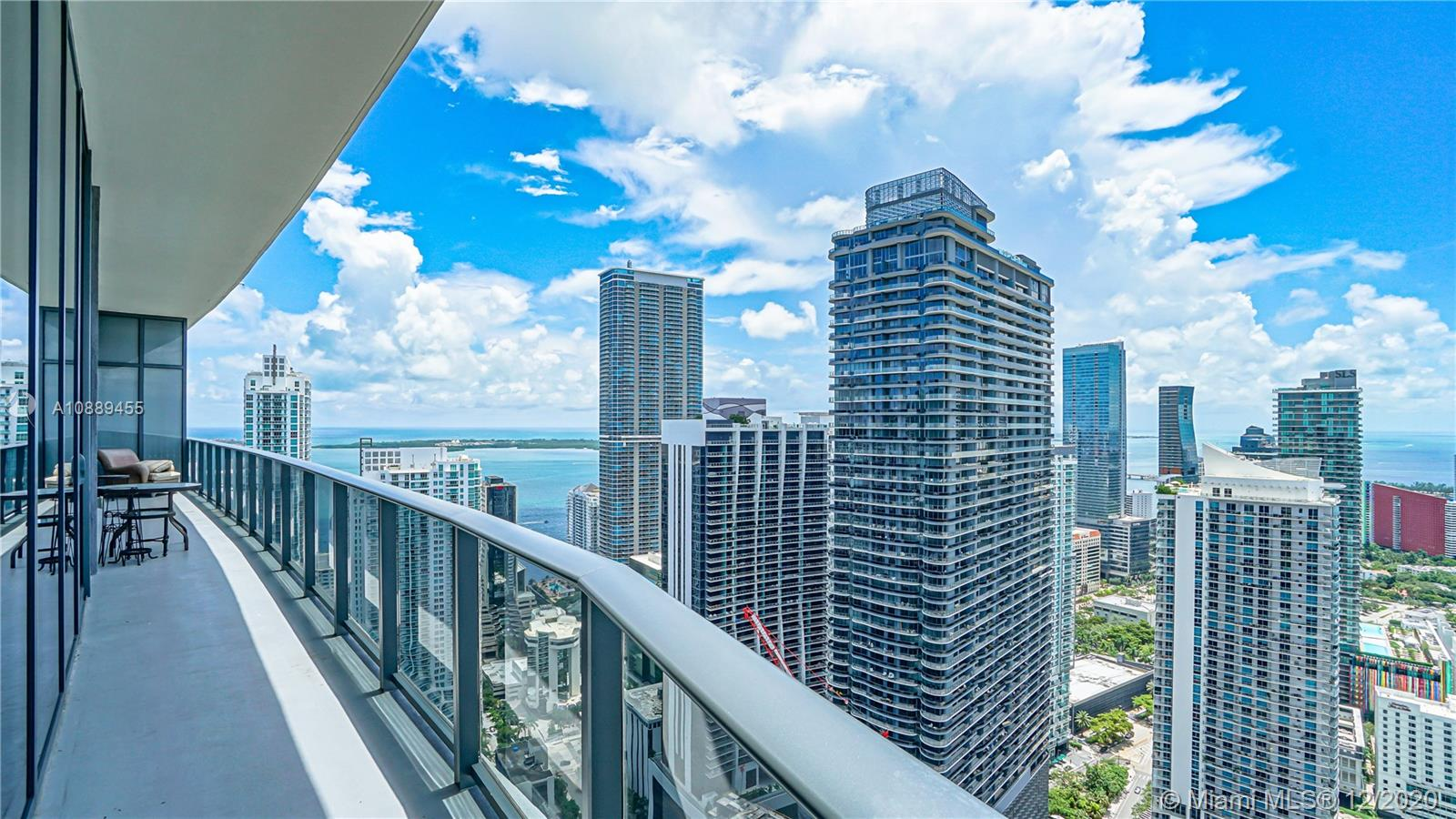 Brickell Heights East Tower #4806 - 45 SW 9th St #4806, Miami, FL 33130