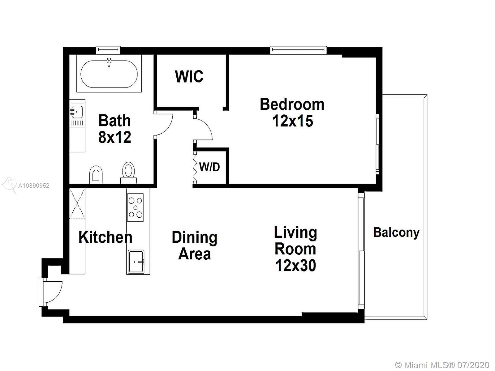 Photo of 218 SE 14th St #1708 listing for Sale