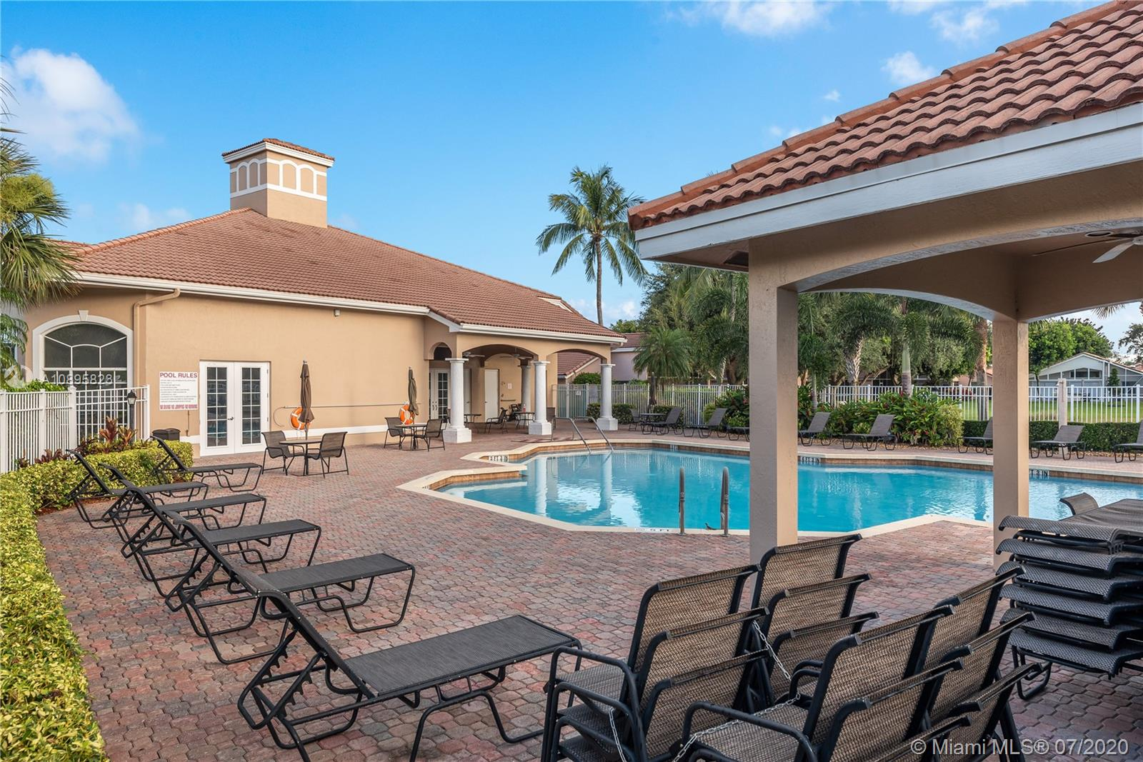POOLSIDE AT THE CLUBHOUSE