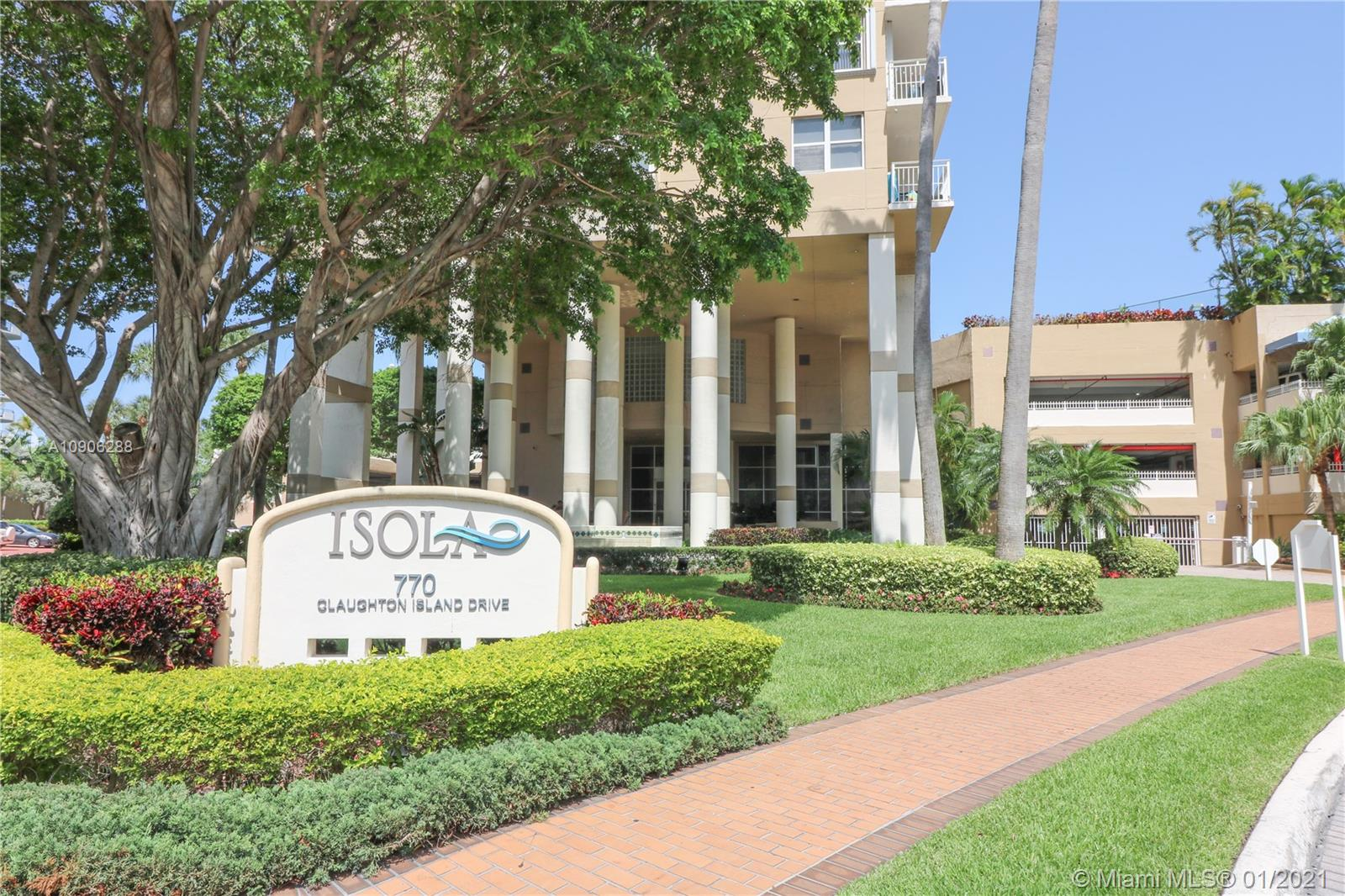 Isola #803 - 770 Claughton Island Dr #803, Miami, FL 33131