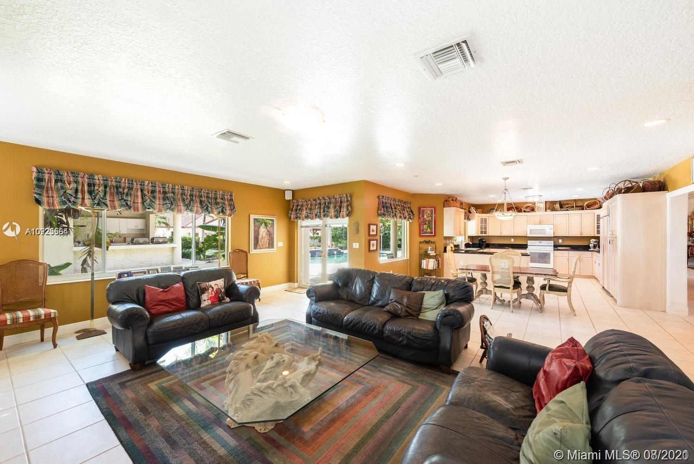 Oversized family room!