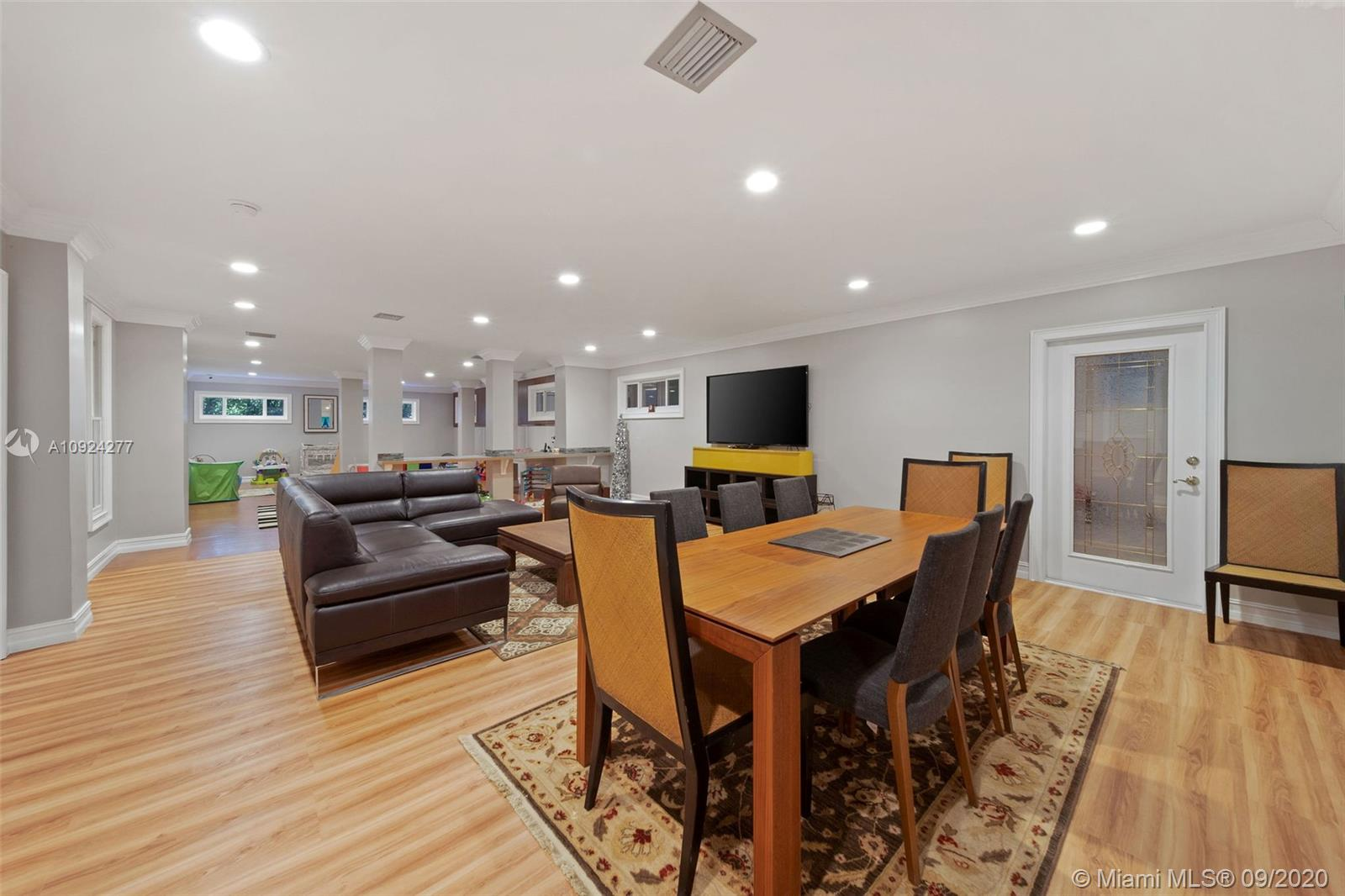 sublevel family room