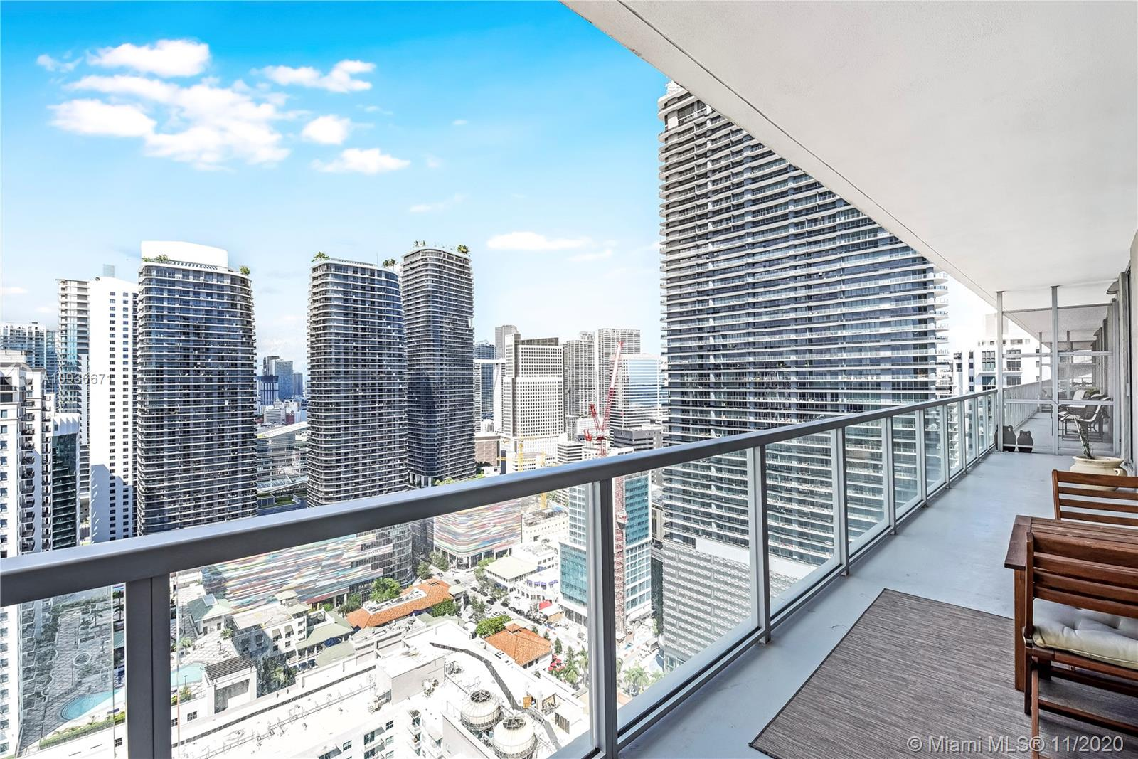 Axis on Brickell North Tower #3723-N - 1111 SW 1st Ave #3723-N, Miami, FL 33130