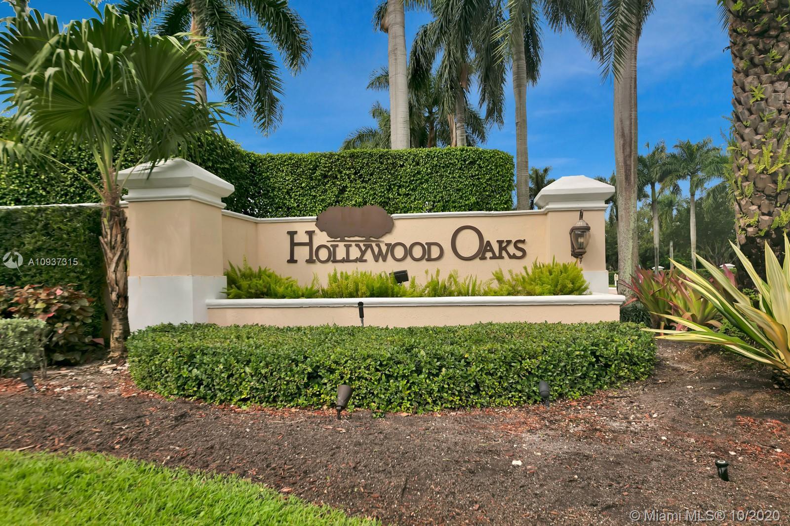 Hollywood Oaks - 3624 Estate Oak Cir, Hollywood, FL 33312