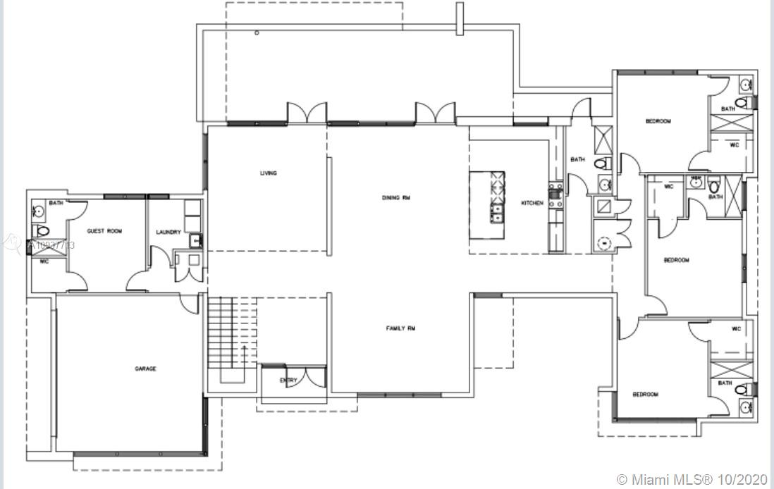 1st Ground Floor Plan