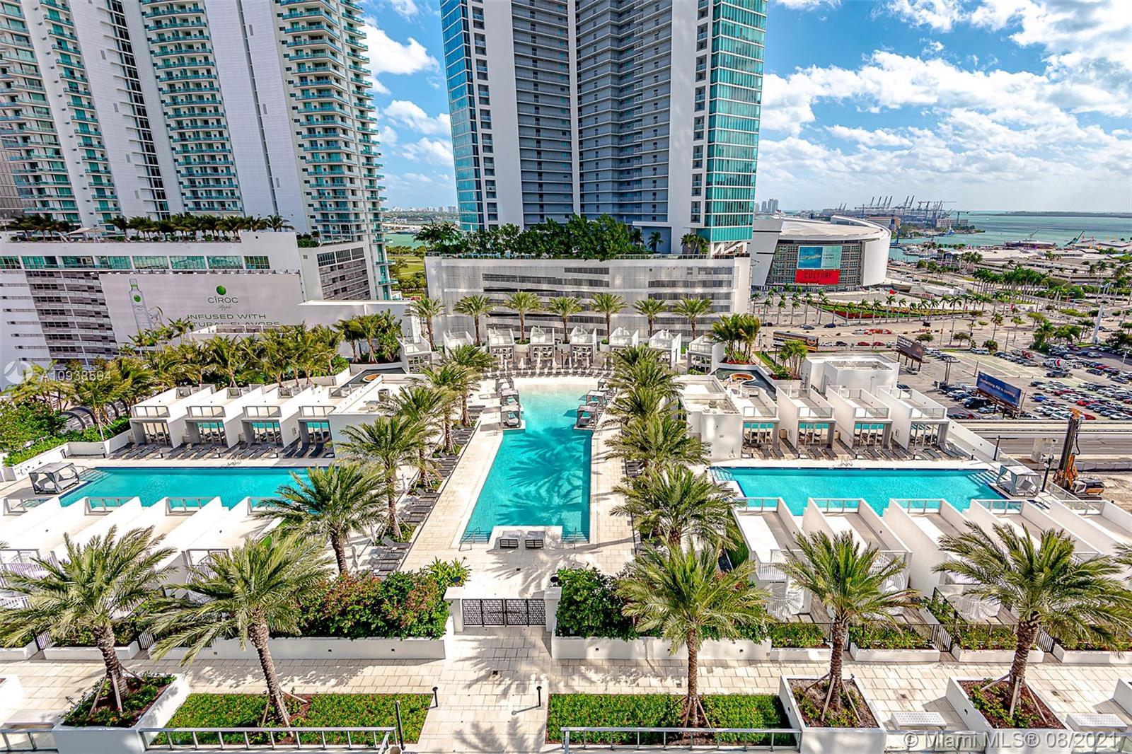 Paramount Miami Worldcenter #1407 - 851 NE 1st Ave #1407, Miami, FL 33131