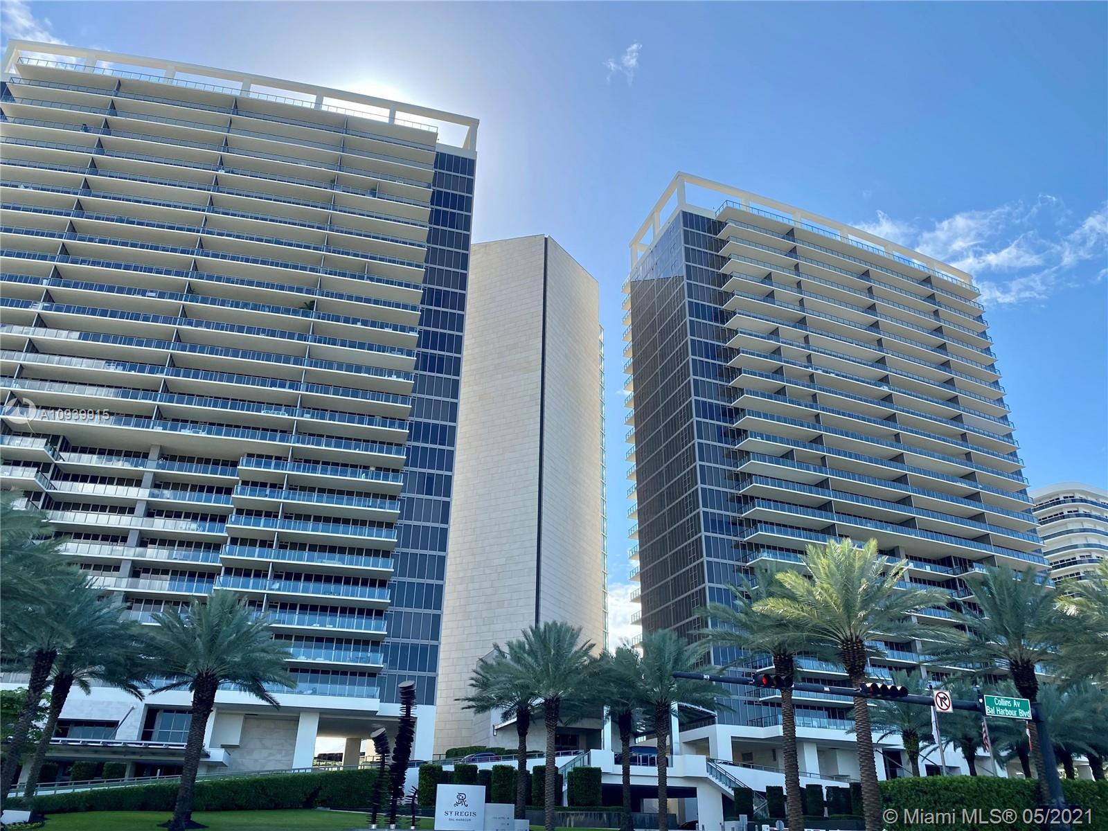 St Regis Bal Harbour North Tower #601N - 9705 Collins Ave #601N, Bal Harbour, FL 33154