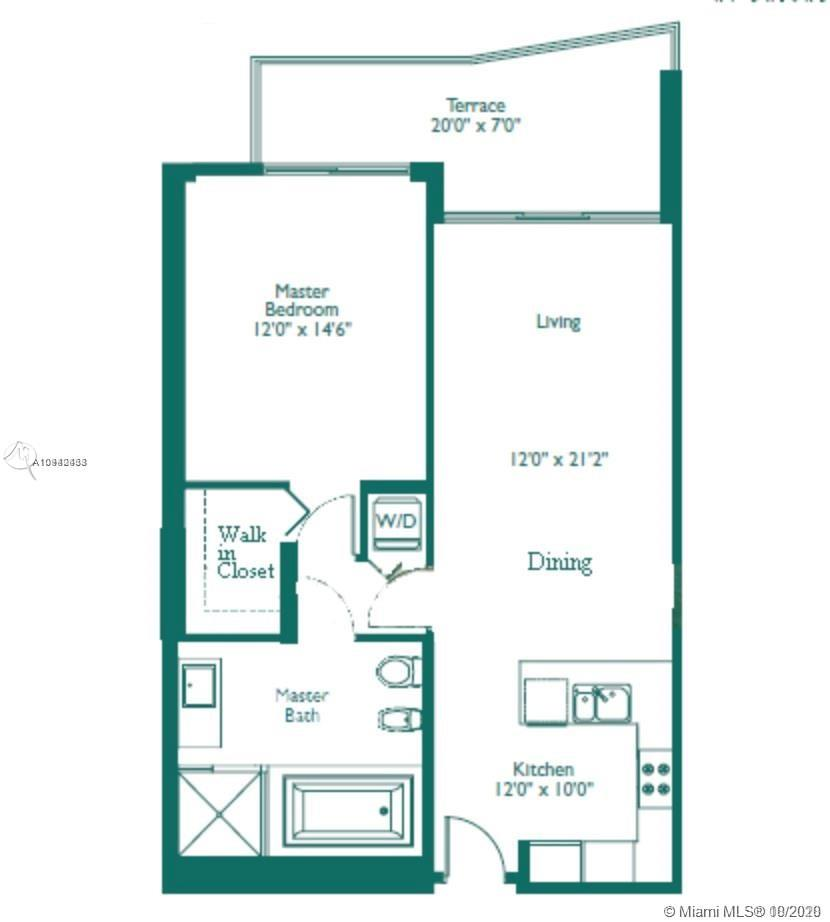 Emerald at Brickell #1206 - 218 SE 14th St #1206, Miami, FL 33131