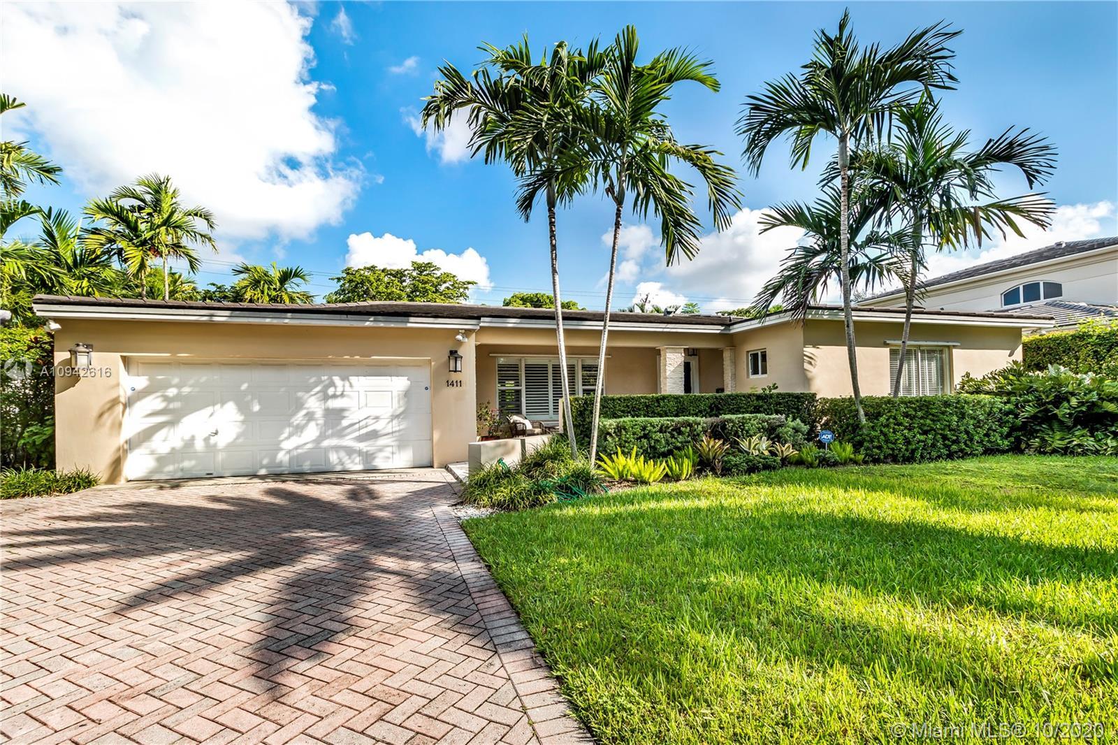 South Miami - 1411 Blue Rd, Coral Gables, FL 33146