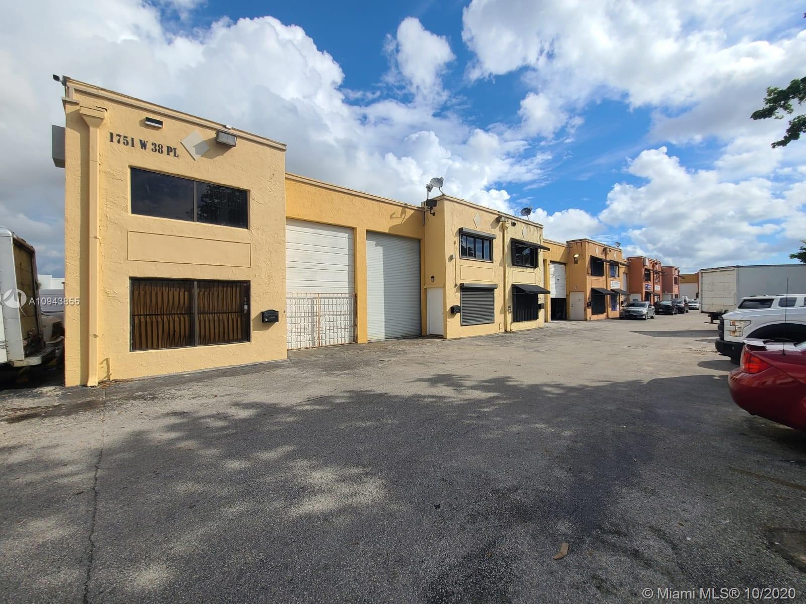 1751 W 38th Pl # A, Hialeah, Florida 33012, ,Commercial Sale,For Sale,1751 W 38th Pl # A,A10943855