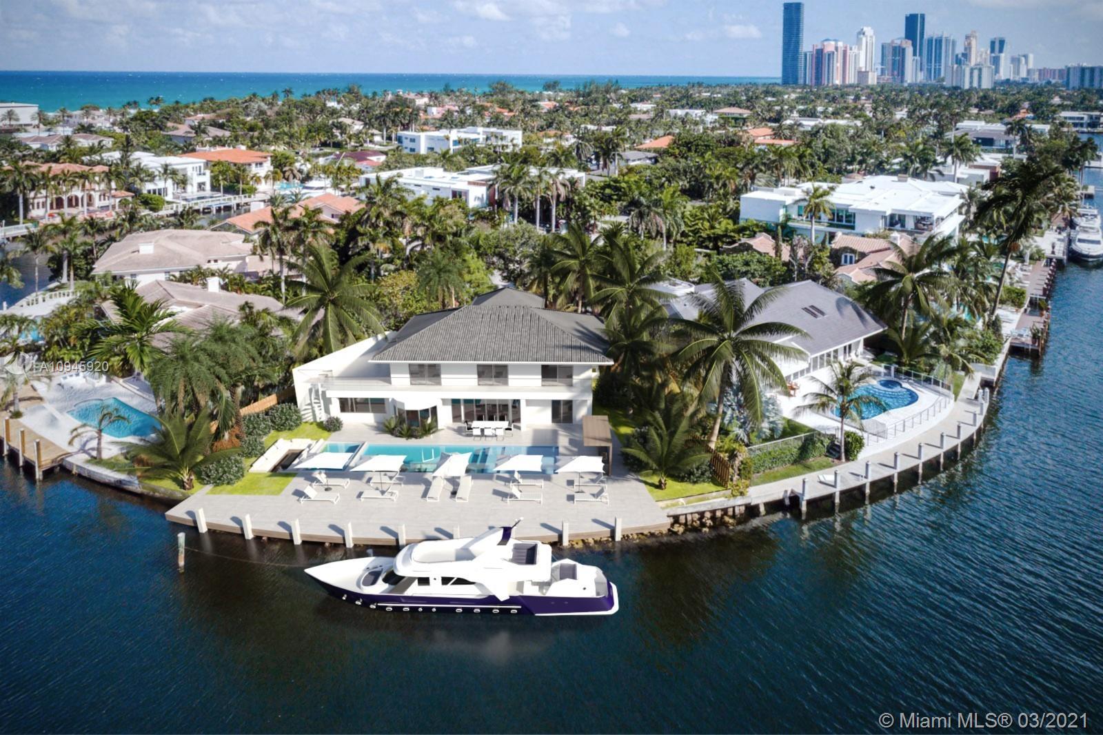 Golden Beach - 447 Center Island Dr, Golden Beach, FL 33160