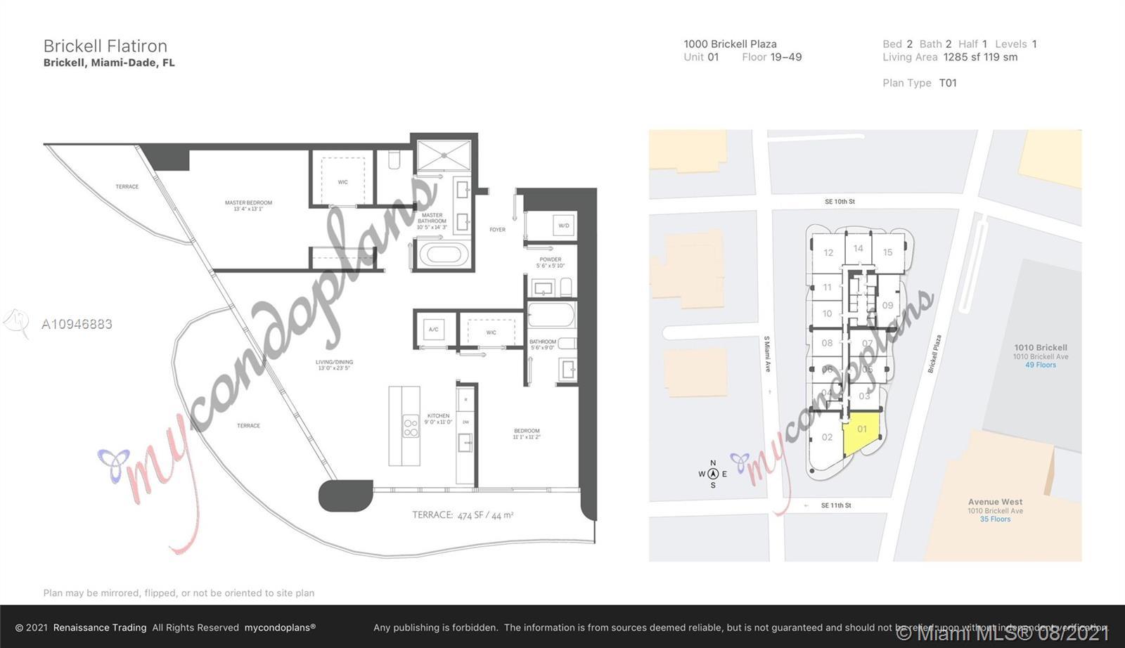 1000 Brickell Plaza #3001 photo055