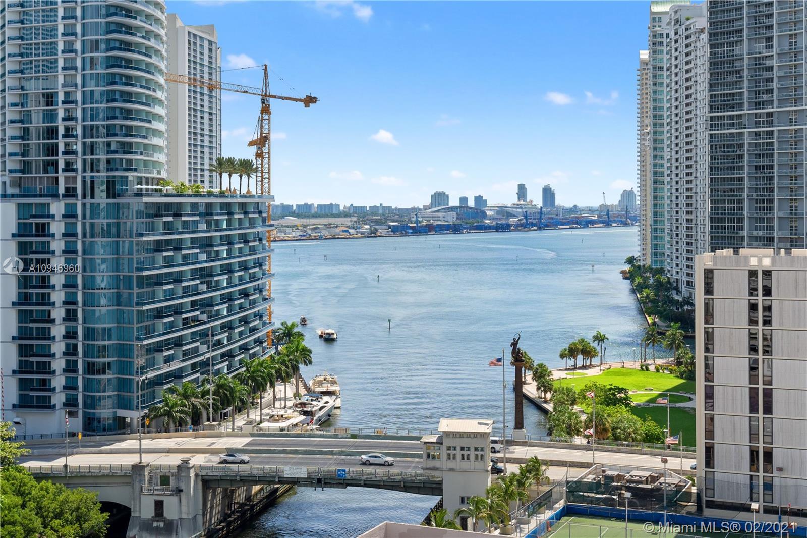 Brickell on the River North Tower #1710 - 31 SE 5th St #1710, Miami, FL 33131