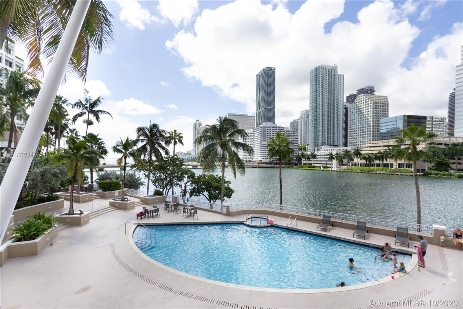 Courvoisier Courts #708 - 701 Brickell Key Blvd #708, Miami, FL 33131