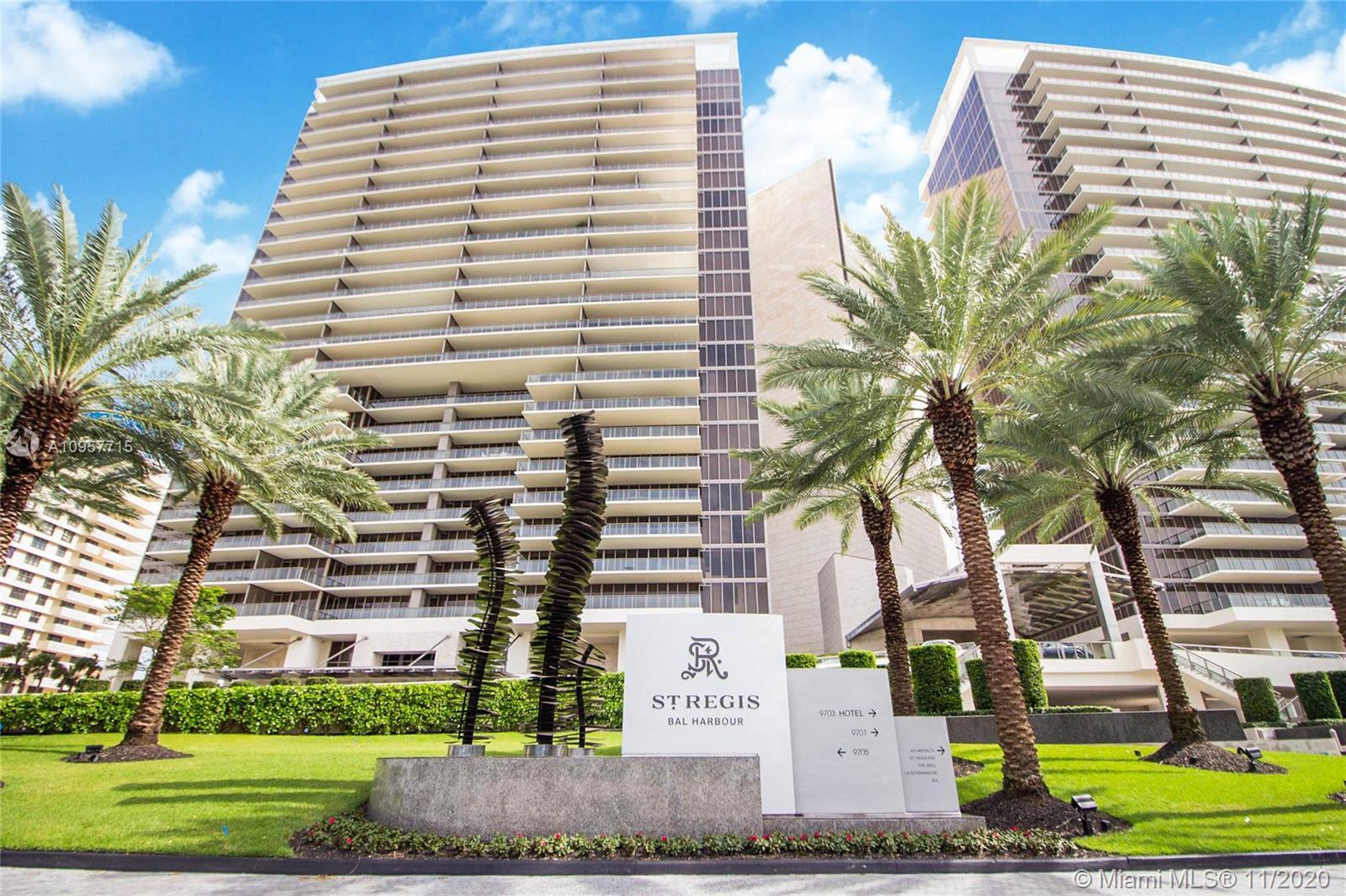 St Regis Bal Harbour Center Tower #806 - 9703 Collins Ave #806, Bal Harbour, FL 33154