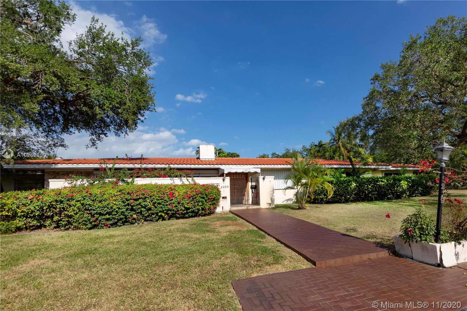 South Miami - 4209 Granada Blvd, Coral Gables, FL 33146