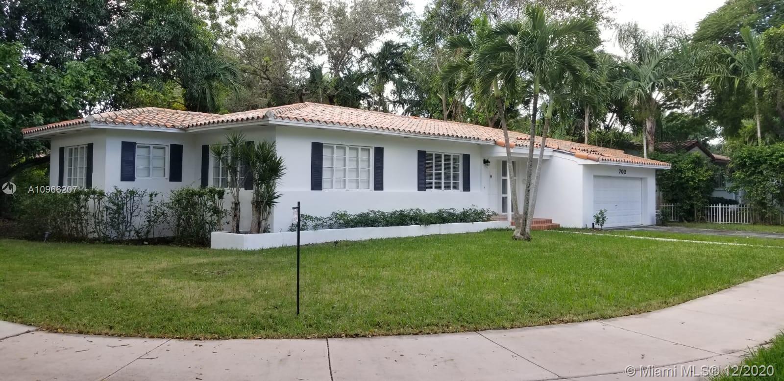 South Miami - 702 Tibidabo Ave, Coral Gables, FL 33143