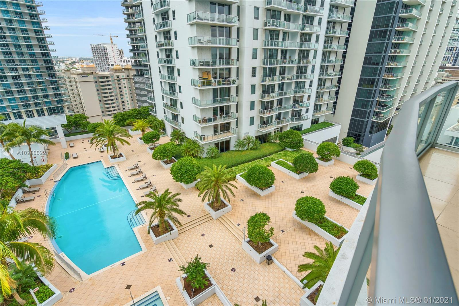 1060 Brickell West Tower #1813 - 1060 Brickell Ave #1813, Miami, FL 33131