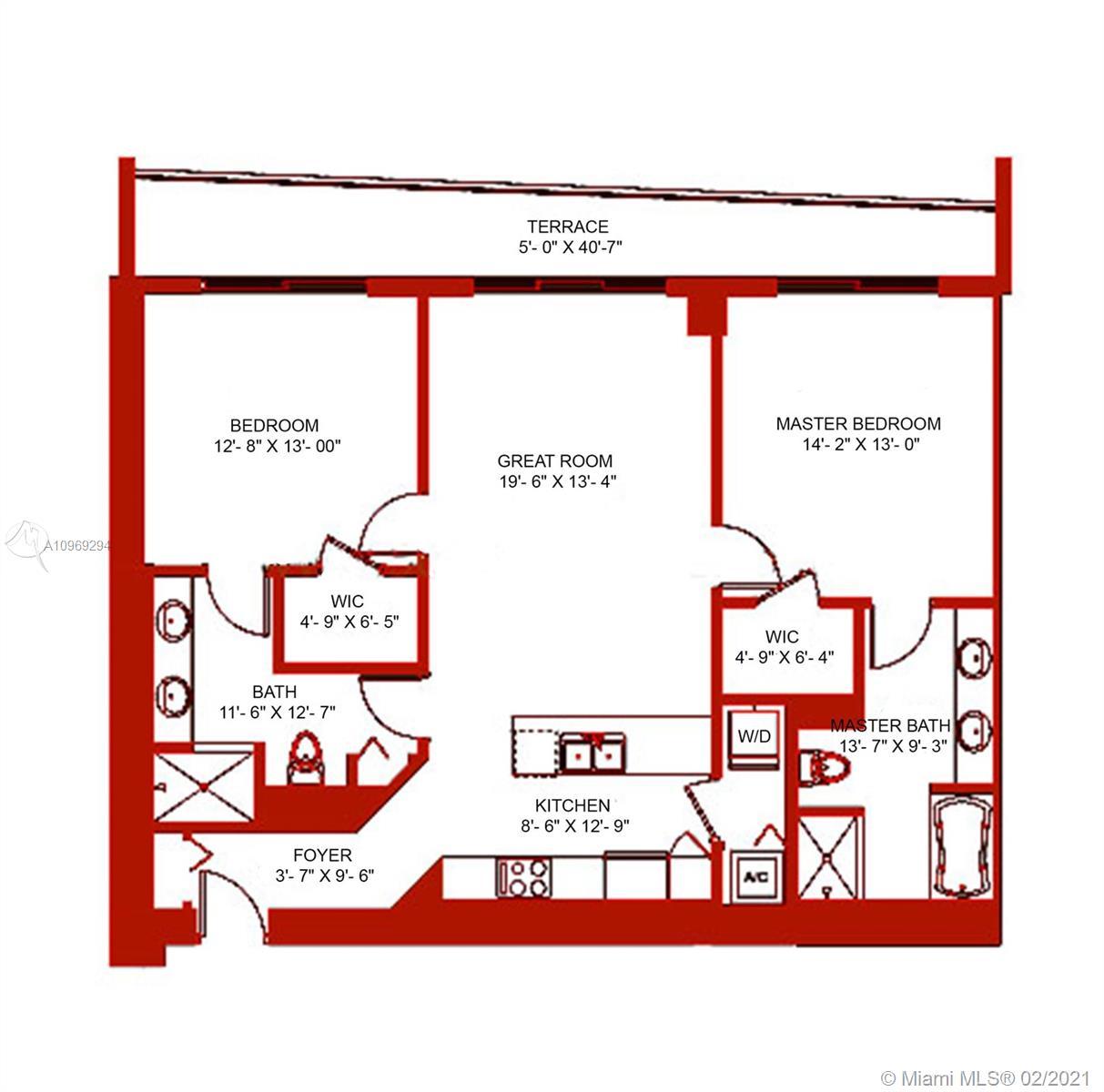 500 Brickell West Tower #3805 - 500 Brickell Ave #3805, Miami, FL 33131