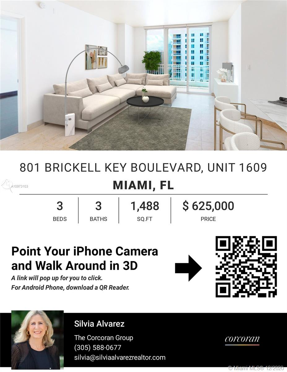 801 Brickell Key Blvd #1609 photo037