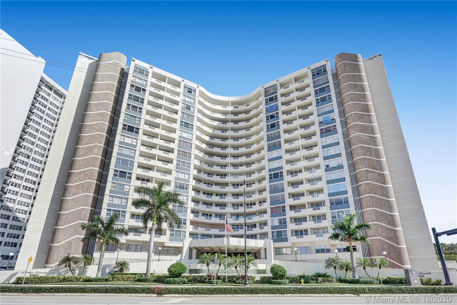 Parker Dorado #709 - 3180 S Ocean Dr #709, Hallandale Beach, FL 33009