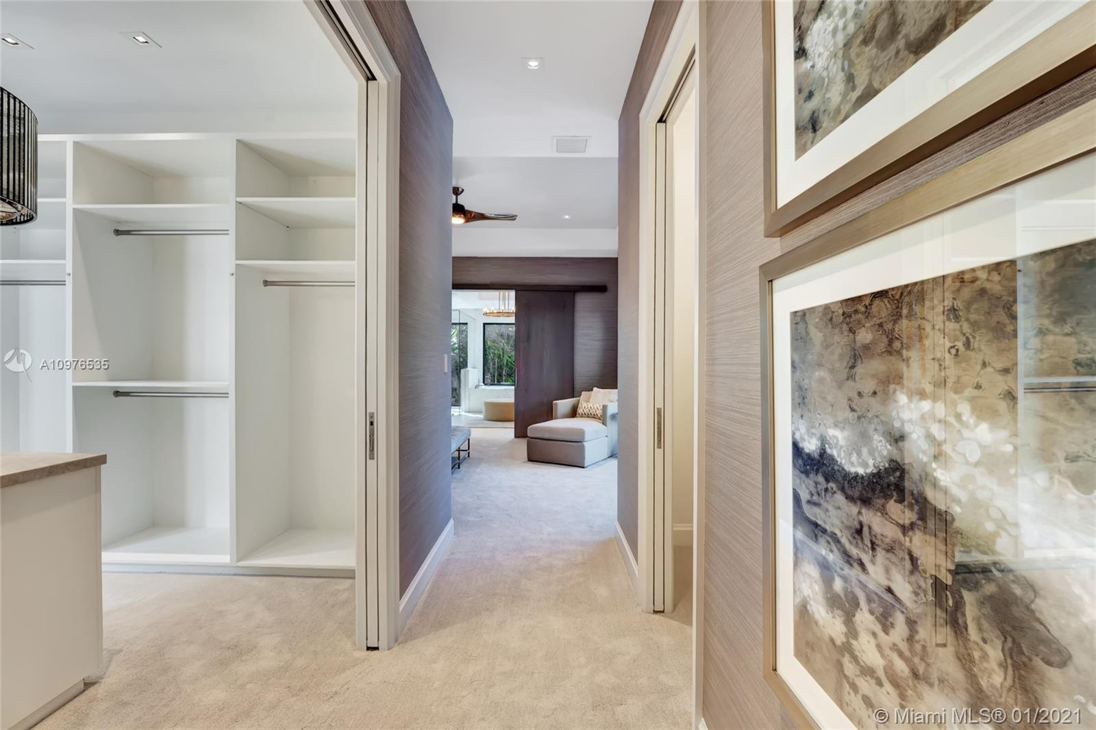 Hallway to the Master Ensuite