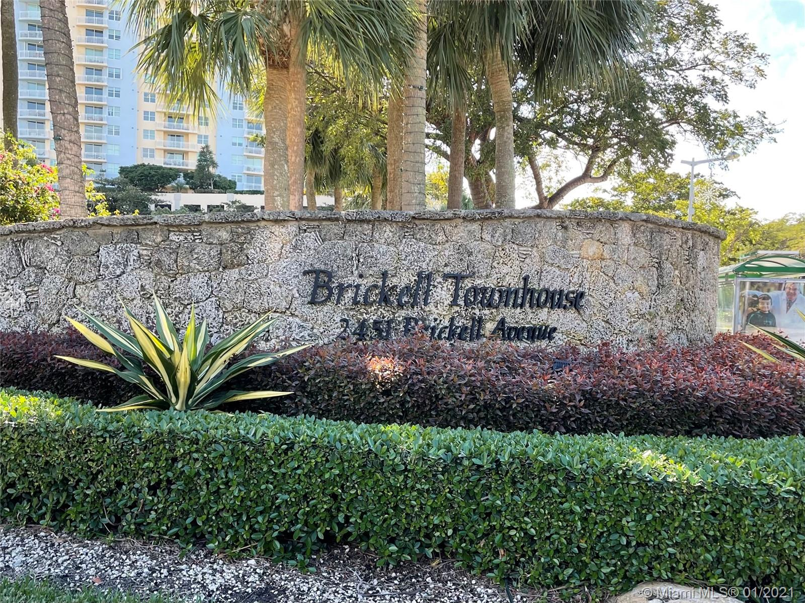 Brickell Townhouse #19B - 2451 Brickell Ave #19B, Miami, FL 33129