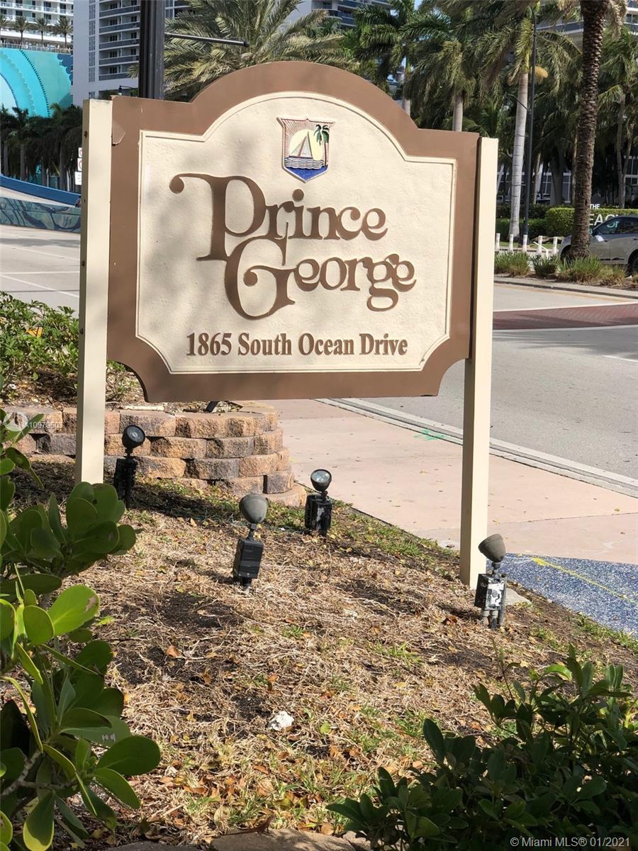Prince George #2E - 1865 S Ocean Dr #2E, Hallandale Beach, FL 33009