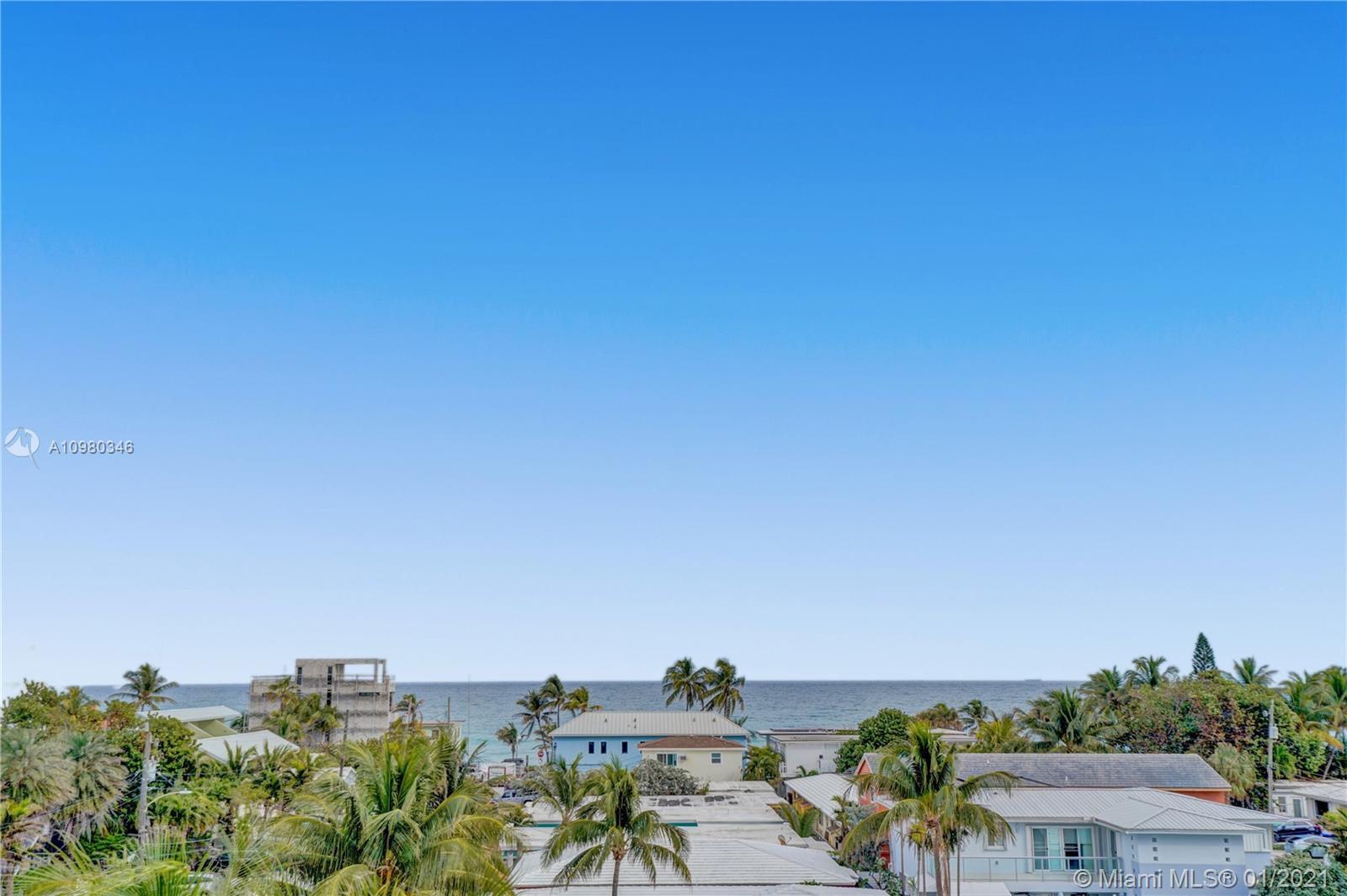 Oceanview from your rooftop deck.