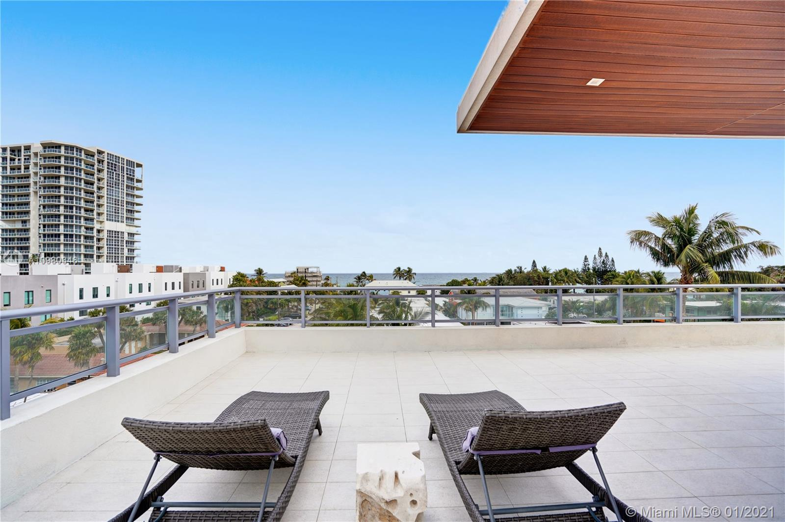 Ocean View from your rooftop deck.