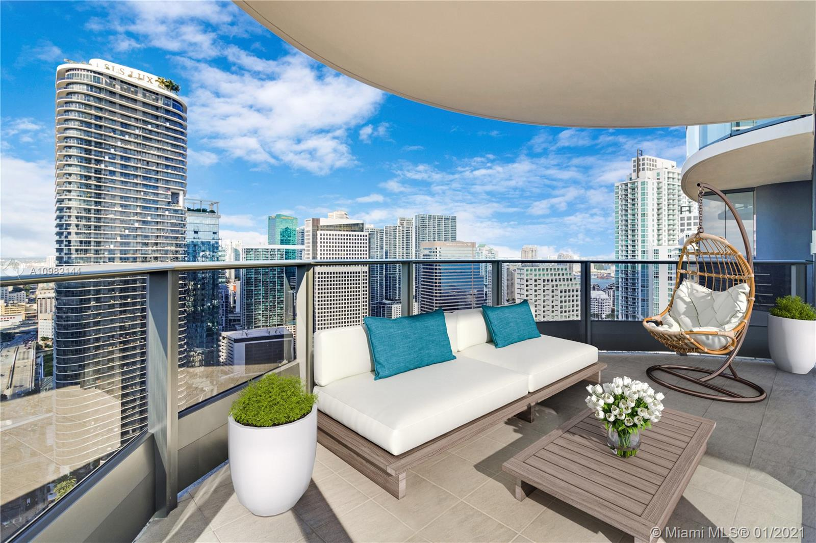 Brickell FlatIron #4012 - 1000 BRICKELL PLAZA #4012, Miami, FL 33131