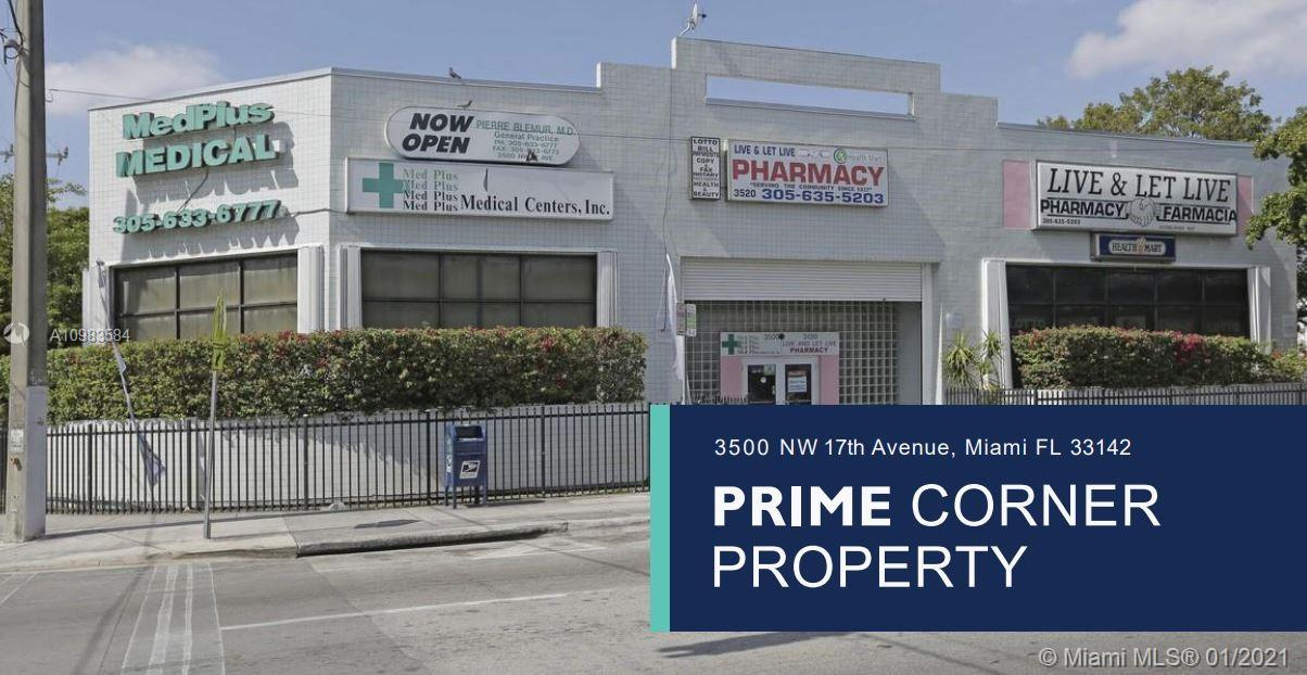 3500 NW 17th Ave, Miami, Florida 33142, ,Commercial Sale,For Sale,3500 NW 17th Ave,A10983584