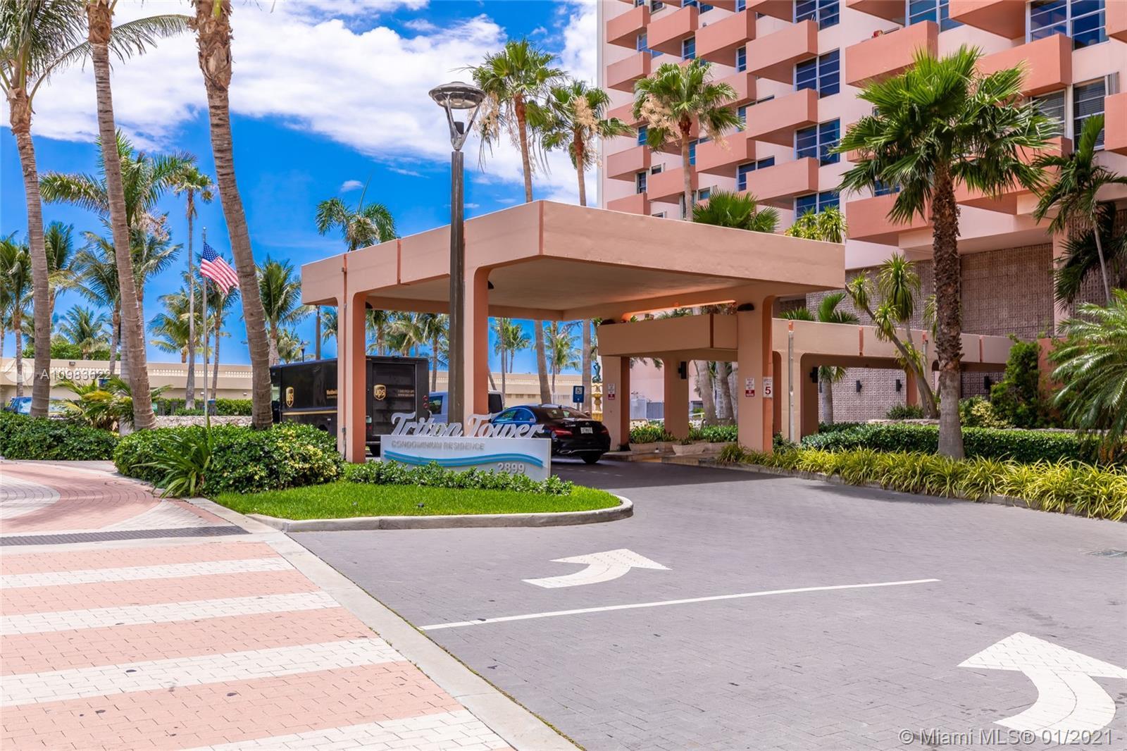 Triton Tower #1425 - 2899 E Collins Ave #1425, Miami Beach, FL 33140