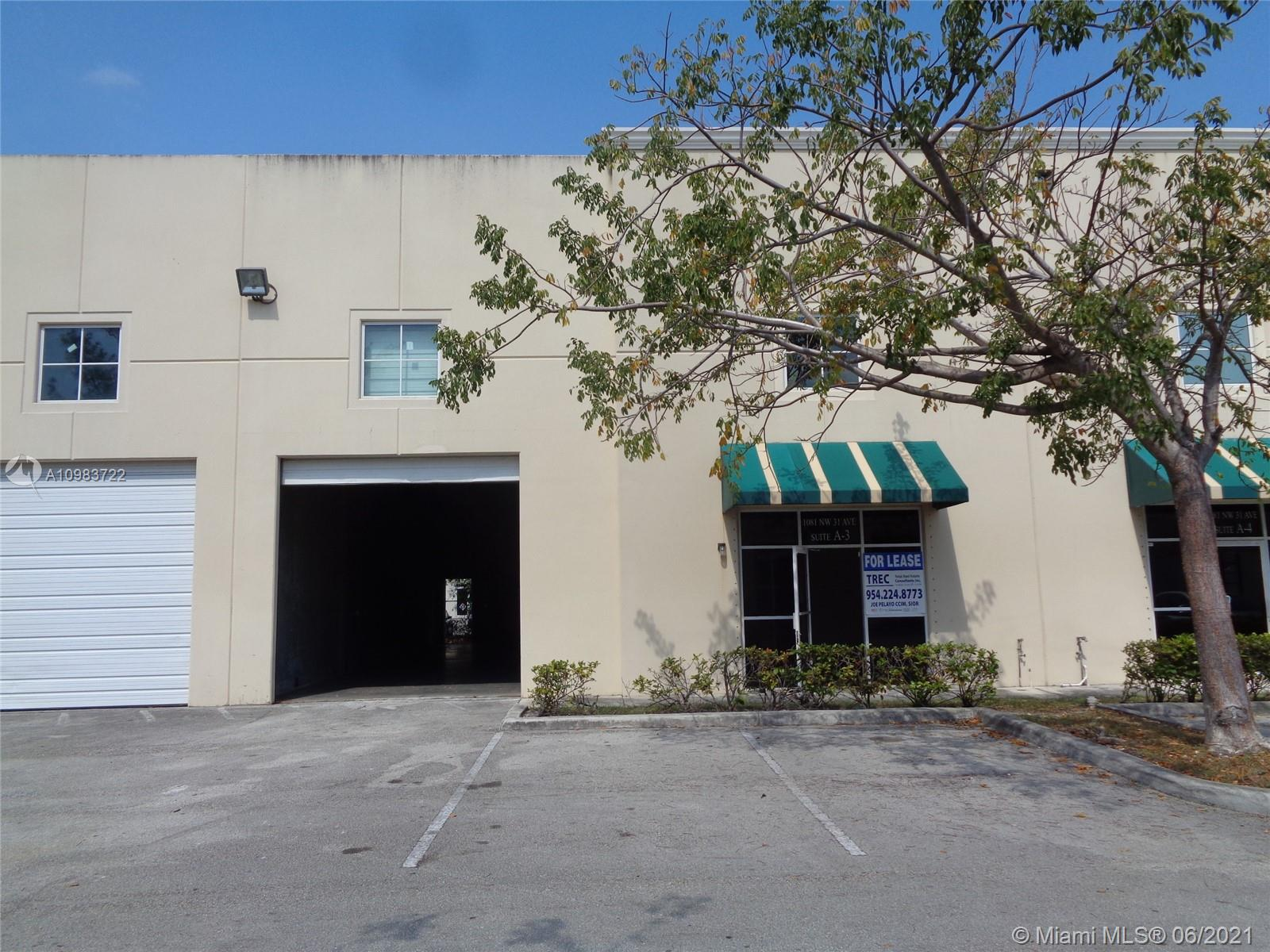1081 NW 31st Ave # 3, Pompano Beach, Florida 33069, ,Commercial Sale,For Sale,1081 NW 31st Ave # 3,A10983722