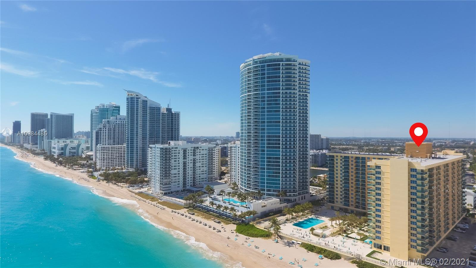 The Wave #1619 - 2501 S Ocean Dr #1619, Hollywood, FL 33019
