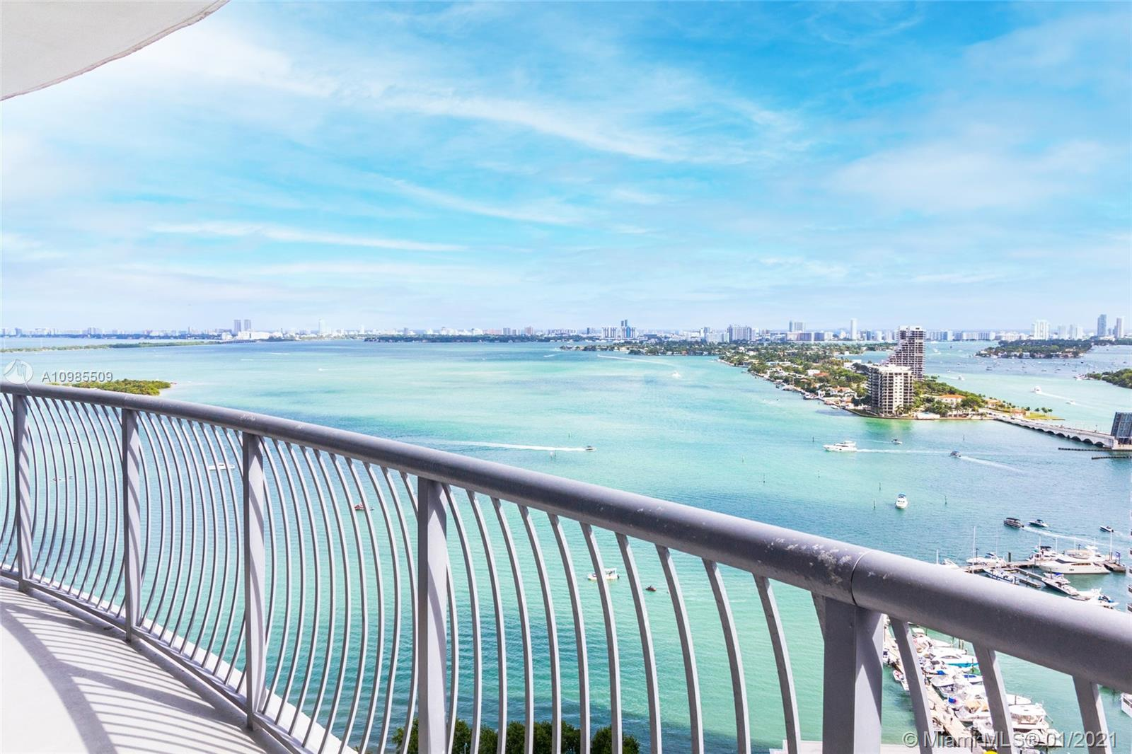 1750 N Bayshore Dr # 2802, Miami, Florida 33132, 2 Bedrooms Bedrooms, ,2 BathroomsBathrooms,Residential,For Sale,1750 N Bayshore Dr # 2802,A10985509