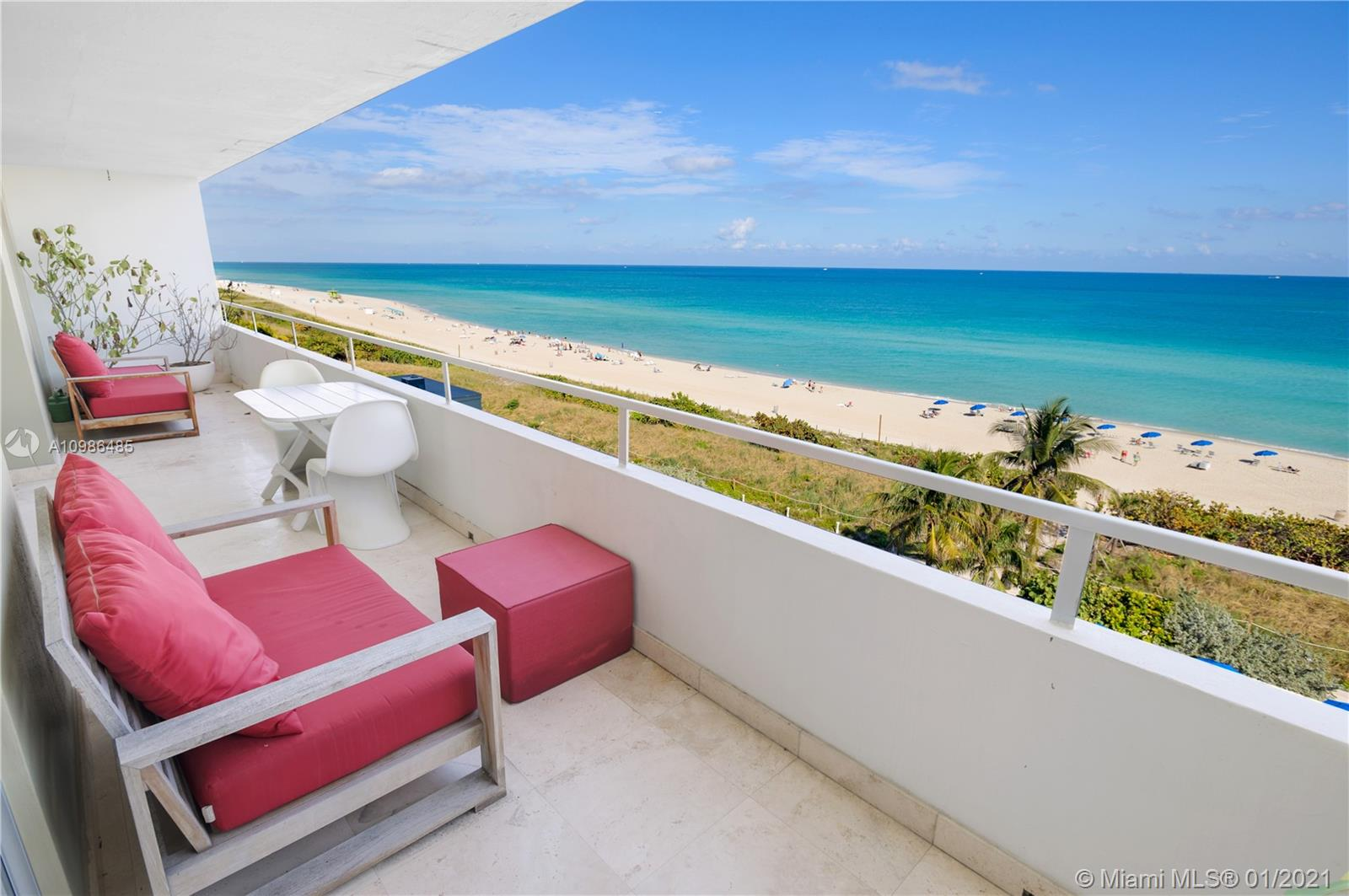 Oceanside Plaza #8H - 5555 Collins Ave #8H, Miami Beach, FL 33140