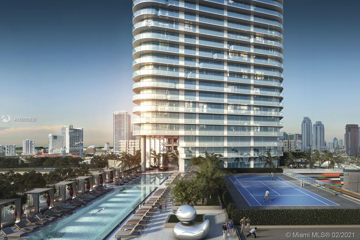 SLS Lux Brickell #1103 - 801 S Miami Ave #1103, Miami, FL 33130