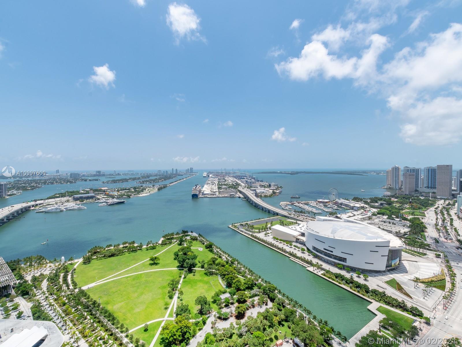 Ten Museum Park #4402 - 1040 Biscayne Blvd #4402, Miami, FL 33132