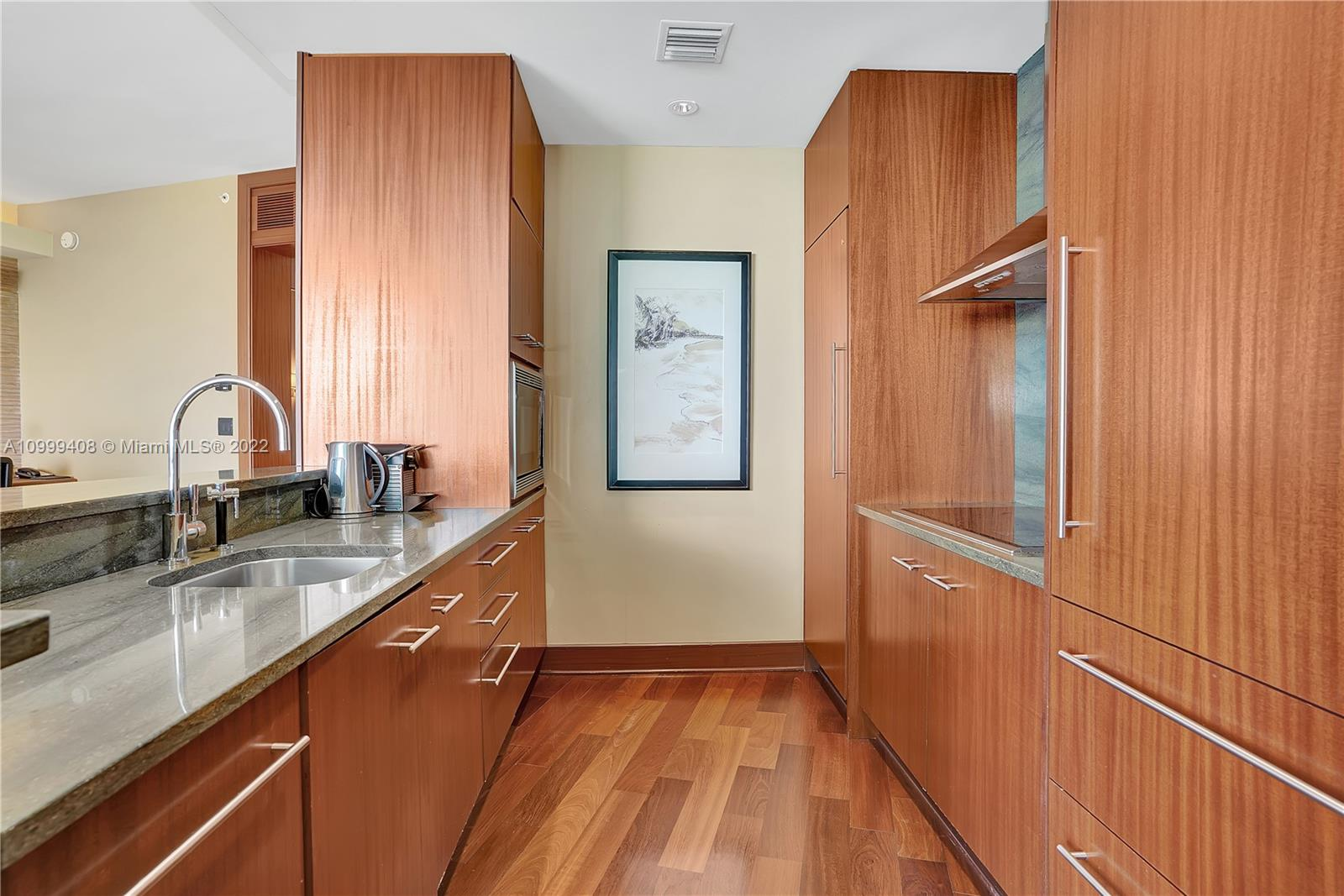 KITCHEN: fridge, freezer, dishwasher, microwave oven, 4-range stove, washer/dryer