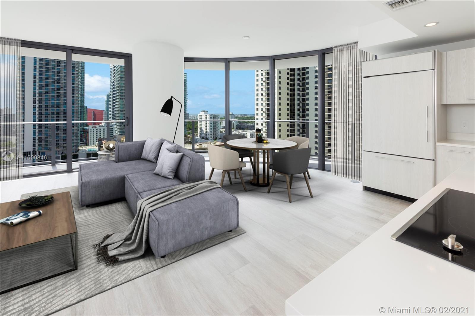 Brickell Heights East Tower #2006 - 45 SW 9th St #2006, Miami, FL 33130