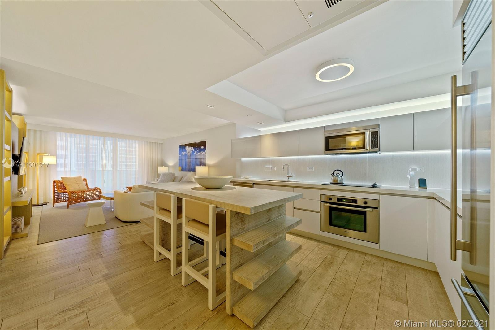 Easy entertaining with full service kitchen.